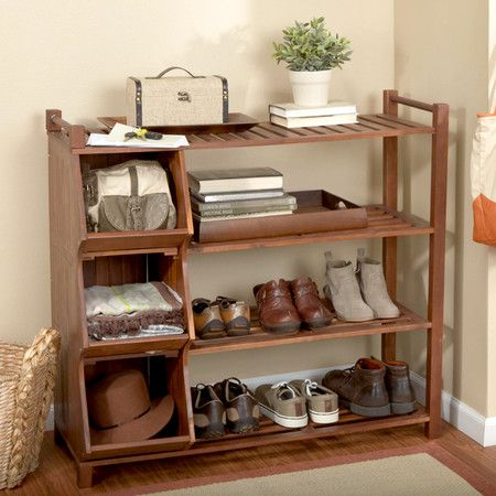 atlantic outdoor 4 tier outdoor shoe rack and cubby