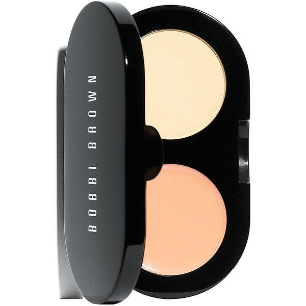 Bobbi Brown Creamy Concealer Kit (47 CAD) ❤ liked on Polyvore featuring beauty products, makeup, face makeup, concealer, porcelain white powder, creamy concealer and bobbi brown cosmetics