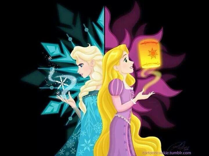 Frozen and Tangled together! Gorgeous graphics as well!