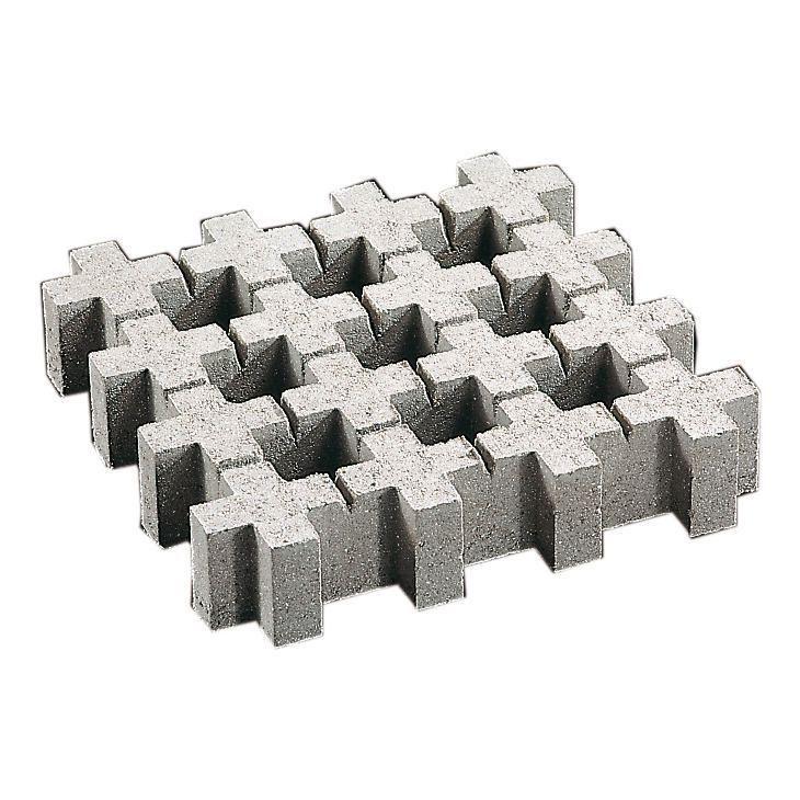 Dalle Gazon Beton Gris 50x50x10 Cm In 2020 Concrete Diy Concrete Diy