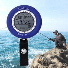 SUNROAD Altimeter Thermometer Fishing Watch IPX4 Waterproof Digital Sports Barometer LCD Mini Fish Finder With Carabiner SR204 //Цена: $19 руб. & Бесплатная доставка //  #computers #laptops