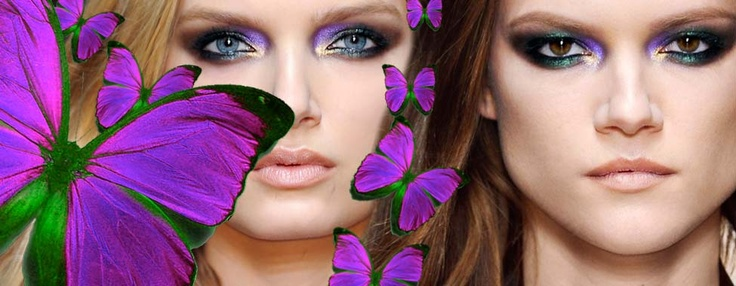 The Butterfly Make Up!