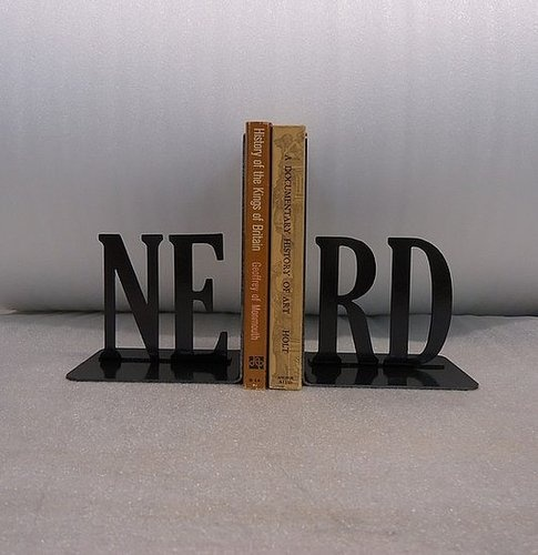 Nerd Bookends: Perfect For Holding Your Sci-Fi Collection