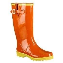orange wellies