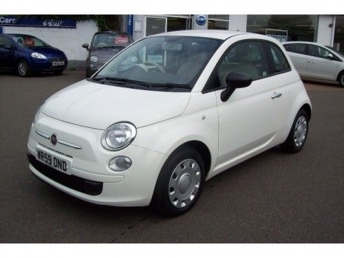 Fiat 500 Pop :) my EVA!! i love it!!