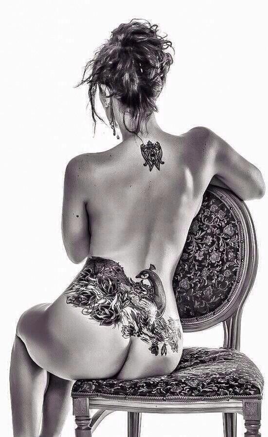 great pic  body art ...