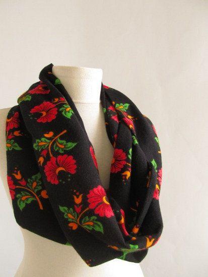 Christmas gift Infinity scarfGiftCircle Infinity by asuhan on Etsy, $22.50