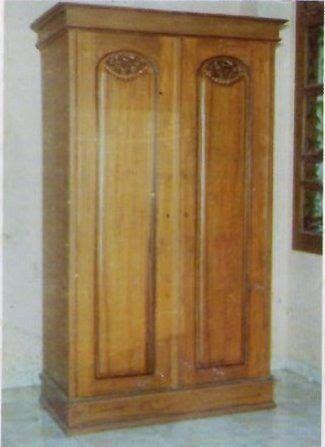 Jati Furniture Minimalis: ALMARI MINIMALIS 2 PINTU KLASIK