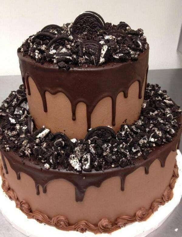 Imagine cake, chocolate, and oreo