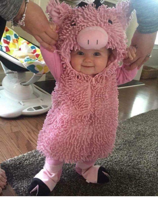 Adorable Little Piggy Costume
