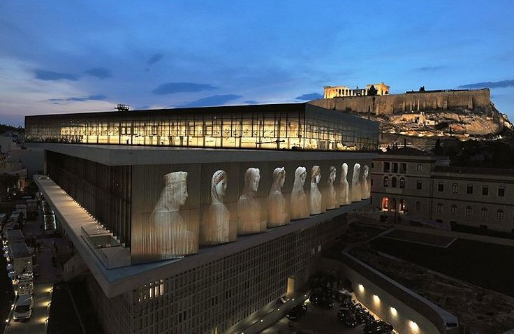 Exterior of The Athens Acropolis Museum