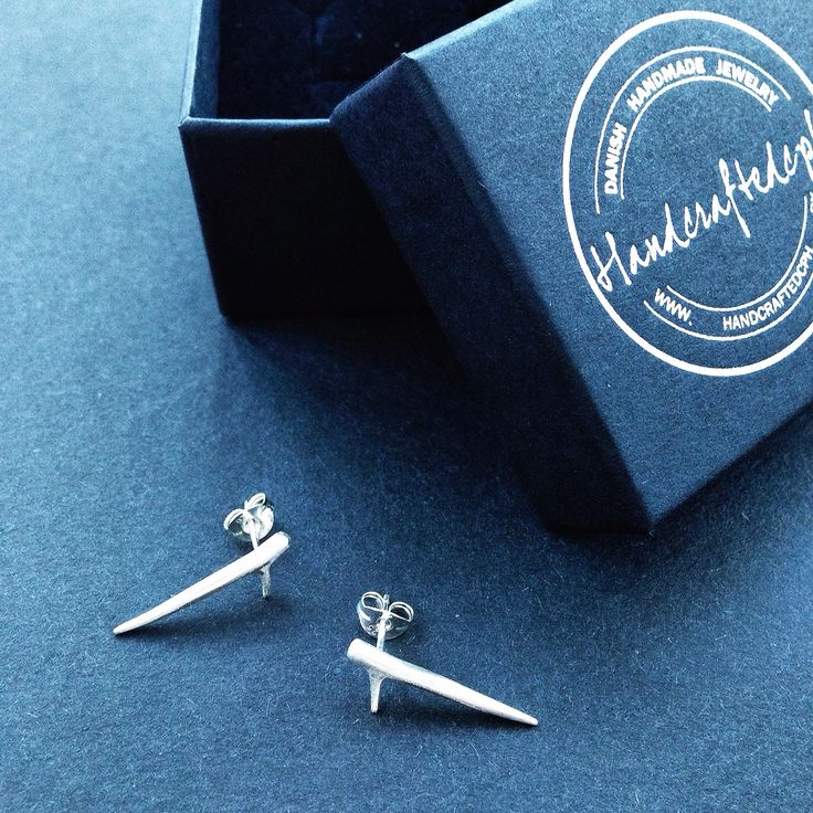 Sterling silver Twig sticks from HandcraftedCph. Democratic jewelries. Danish design.   www.donttell.dk