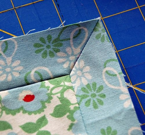 How to sew quilt binding.