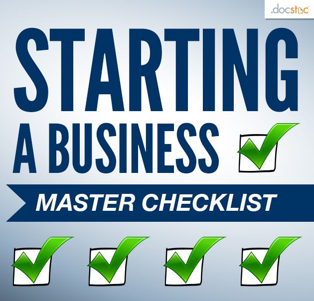 Starting A Business: The Great Big Checklist Of Everything // #Entrepreneur  #SmallBiz