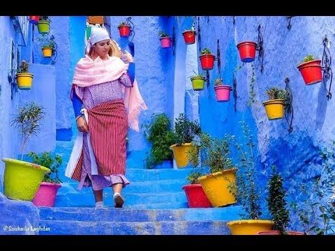 Blue is the colour which gives a beautiful & attractive look to Morocco.  Must Come to this Dream Place.  #BlueMorocco #Moroccobestphotos