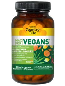 Top Vegan Supplements | Country Life Vitamins