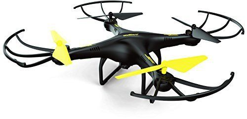 Steal the show at your next big outing with UDI's newest and most tricked out models yet! The U45 Raven drone is decked out with all of the latest features and upgrades: HD Camera – Capture pristine high definition 720p aerial photos and videos of everything in its path with its 2MP... more details available at https://perfect-gifts.bestselleroutlets.com/gifts-for-teens/electronics-gifts-for-teens/product-review-for-u45-hd-drone-with-camera-with-4gb-micro-sd-card-f