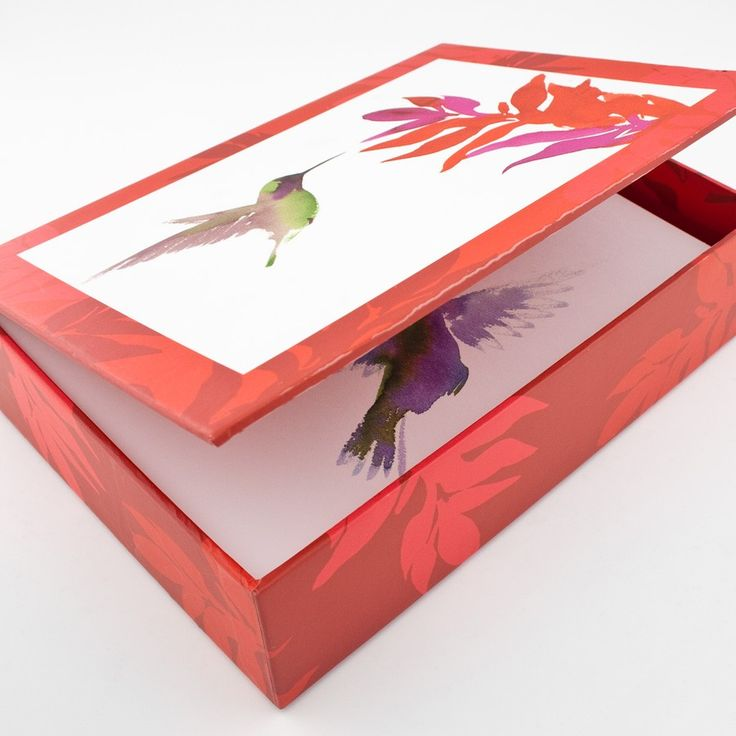 Hummingbird Note Gift Box - for nanni