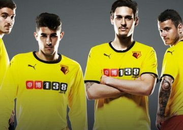 Watford FC 2014/15 PUMA Home Kit