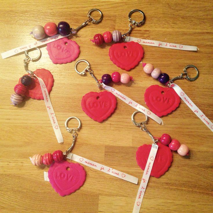 Porte clés fête des mères
