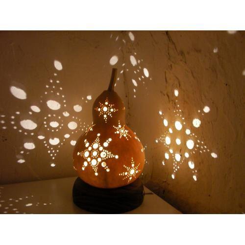 Gourd Snowflake Lamp