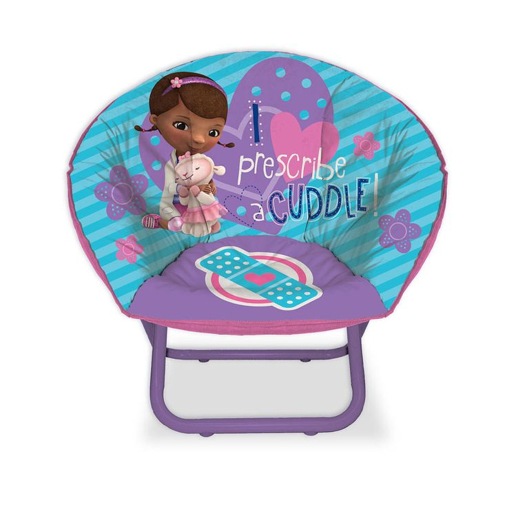 """Doc McStuffins Mini Saucer Chair - Toys """"R"""" Us $25"""