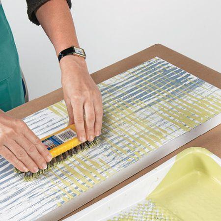 Easy painted panel headboard ideas