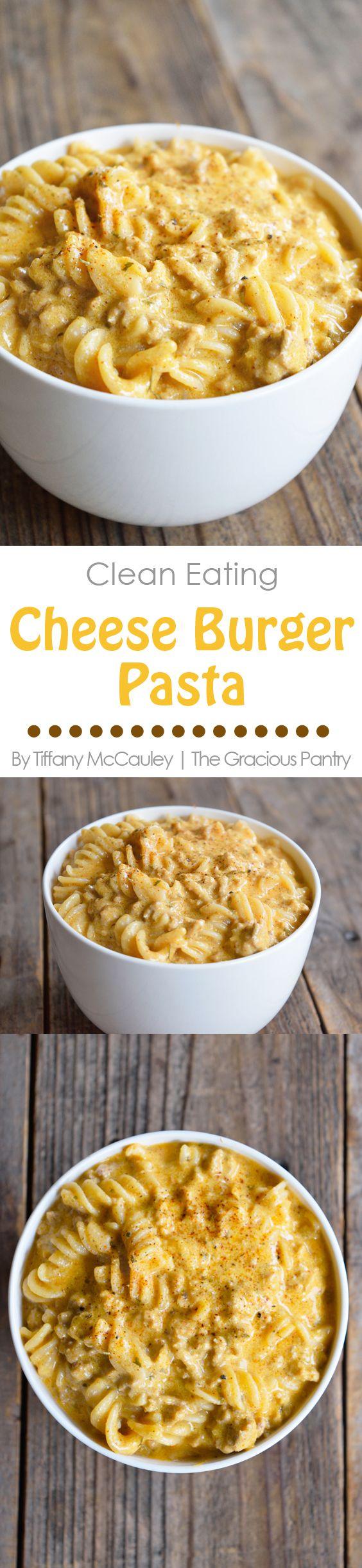 Clean Eating Recipes | Hamburger Helper Recipe | Cheese Burger Pasta Recipe | Dinner Recipes