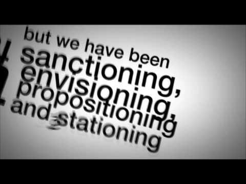 Stephen Fry Kinetic Typography – Language