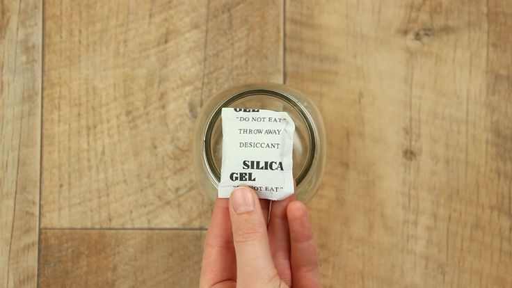 6 Dinge, für die du Silica-Gel-Päckchen unbedingt aufheben solltest.