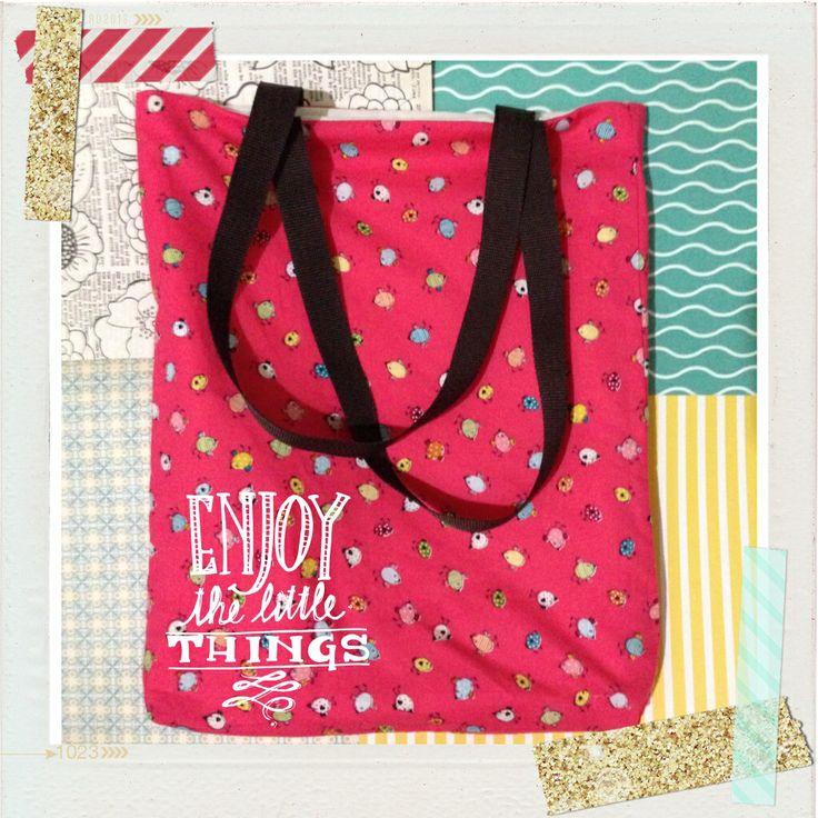 #little bluey ||diy tote bag|| ++ pikkableu ++