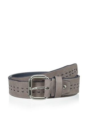 73% OFF Bolliver Men's Center Stitch Belt (Taupe/Navy)