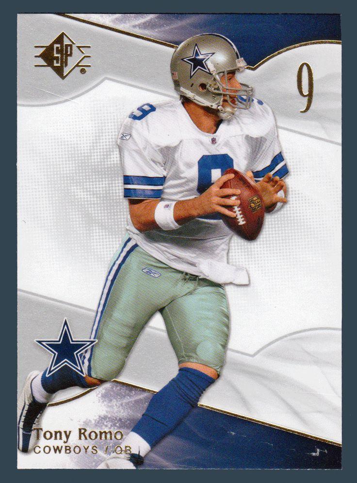 Tony Romo # 73 - 2009 Upper Deck SP Authentic Retail Football #NFLFootball