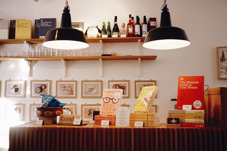 Monocle Café in London by Amé Story