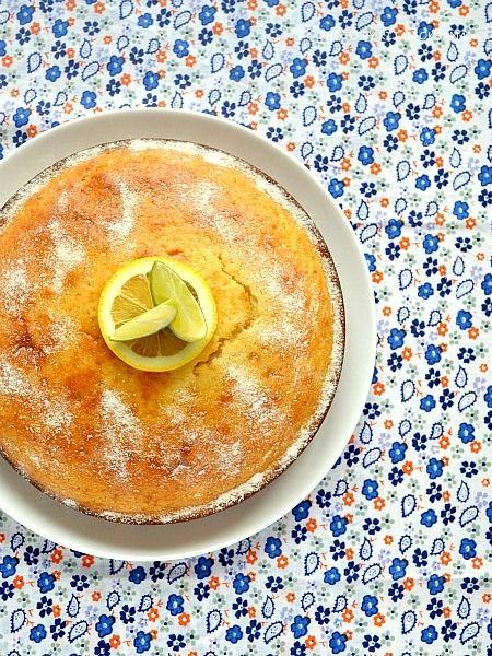 Лимонно-творожный пирог.....