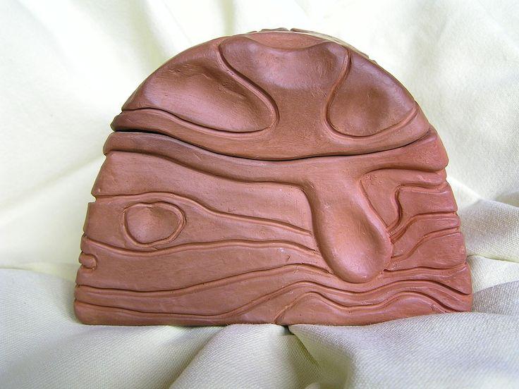 Ceramiczny pojemnik, puzderko_ I strona