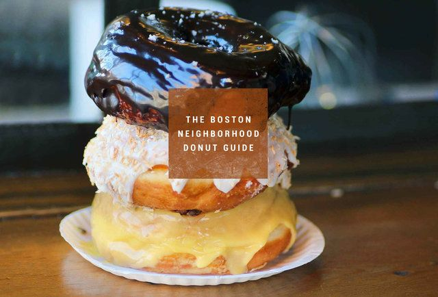 The Best Donuts in 10 Boston 'Hoods