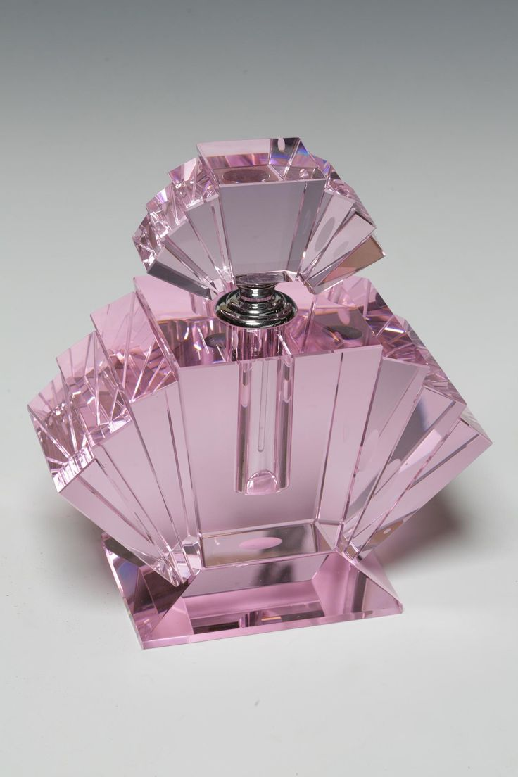 Large Pink Deco Fan Perfume Bottle -http://www.homestansted.co.uk/
