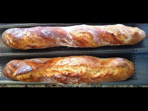Les baguettes, c'est facile —- Easy baguette bread | Magali's Healthier Kitchen