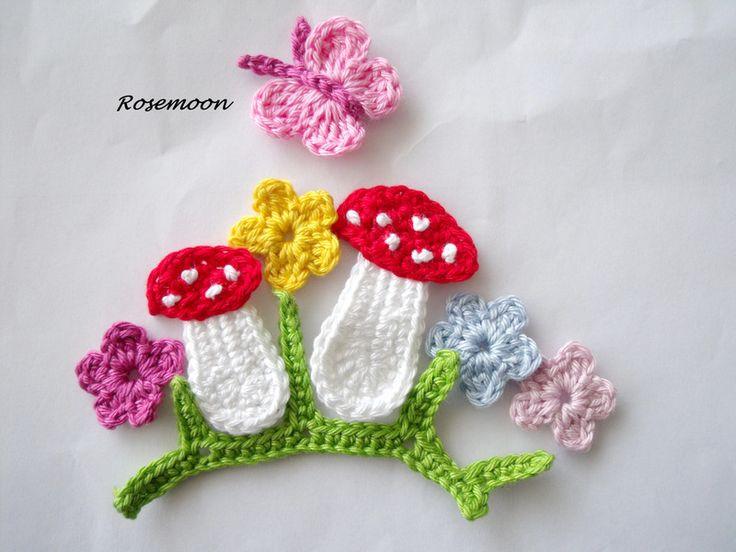 Fliegenpilz, Pilz, Schmetterling, Häkelblume
