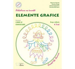 Arlechino ne invata elemente grafice 4-5 ani