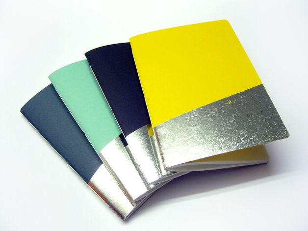 Silver notebooks