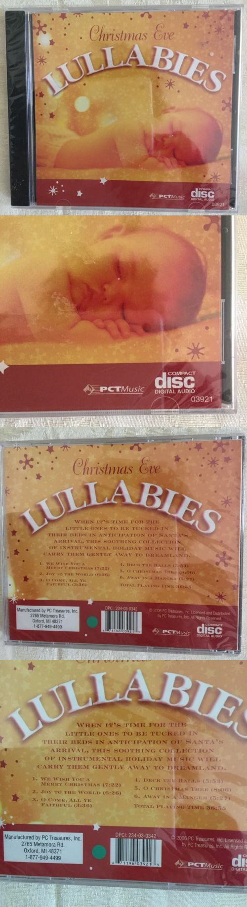 Christmas Songs And Album: Christmas Eve Lullabies Music Cd BUY IT NOW ONLY: $2.99