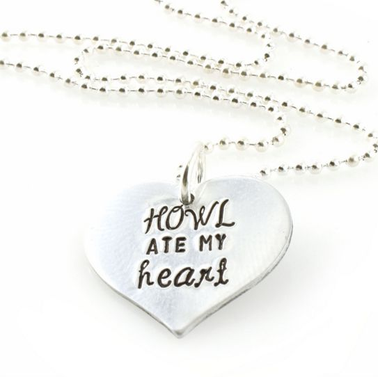 """This honest necklace (<a href=""""http://www.spiffingjewelry.com/product_p/howl1.htm"""" target=""""_blank"""">$26</a>)."""