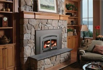 Lopi Wood Burning Fireplace From The Fireplace Factory In Long Island.  Www.Thefireplacefactory.