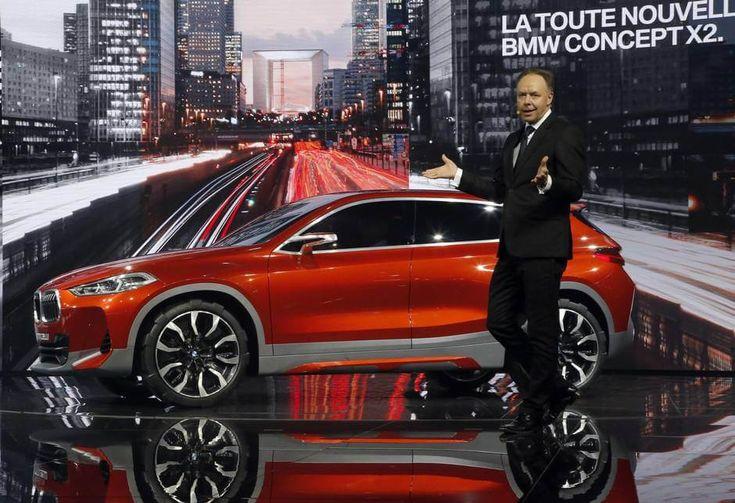 Концепт BMW X2 представлен в Париже