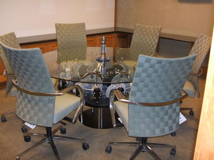 Radial Engine Conf Table   engine aircraft table   Pinterest   Radial engine,  Engine coffee table and Tables