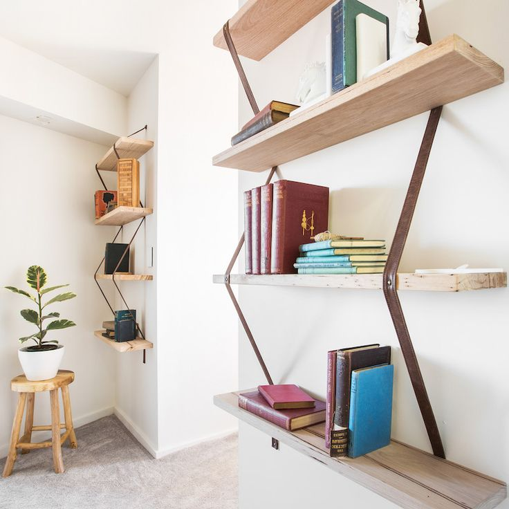 Andy and Whitney Room 5 | Study, Laundry and Powder #theblock #theblockshop #shelving