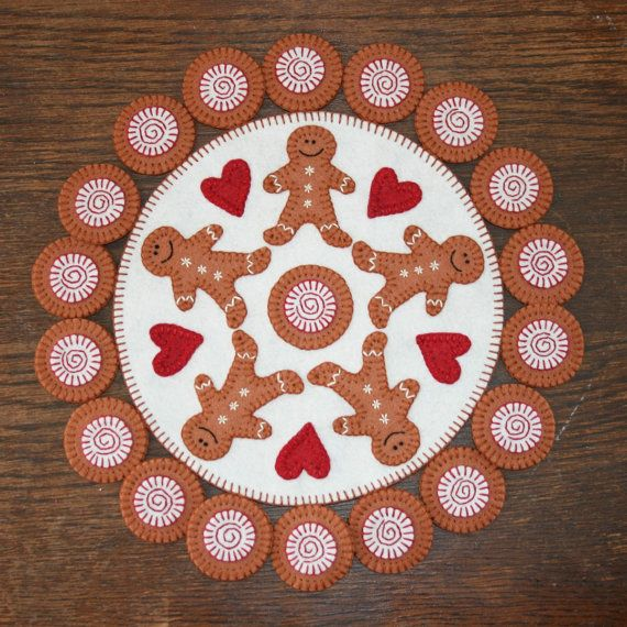 Who Needs Santa Gingerbread Embroidery Patterns