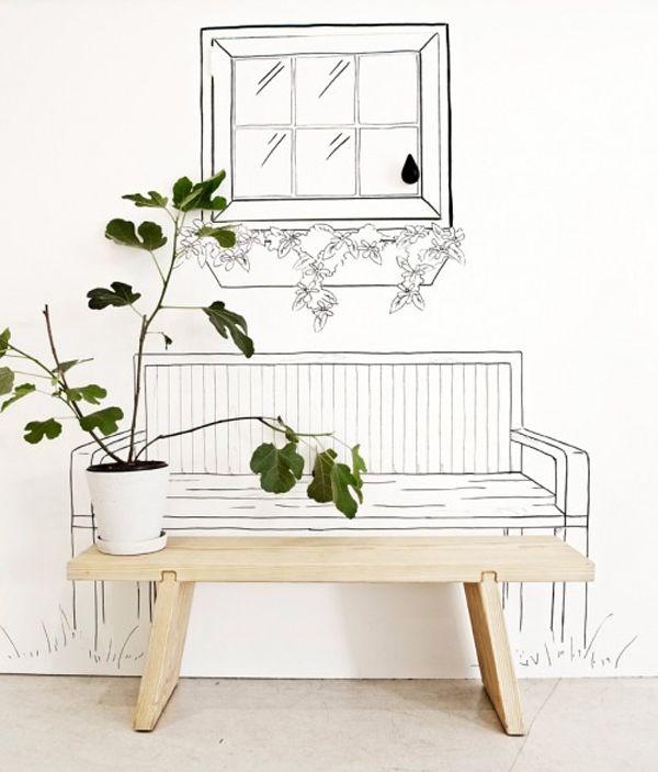 Pop up gardening at NormannCopenhagen: Interior, Idea, Art, Gardening, Normanncopenhagen, Normann Copenhagen, Diy, Wall, Design